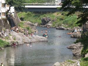 吉田川 学校橋