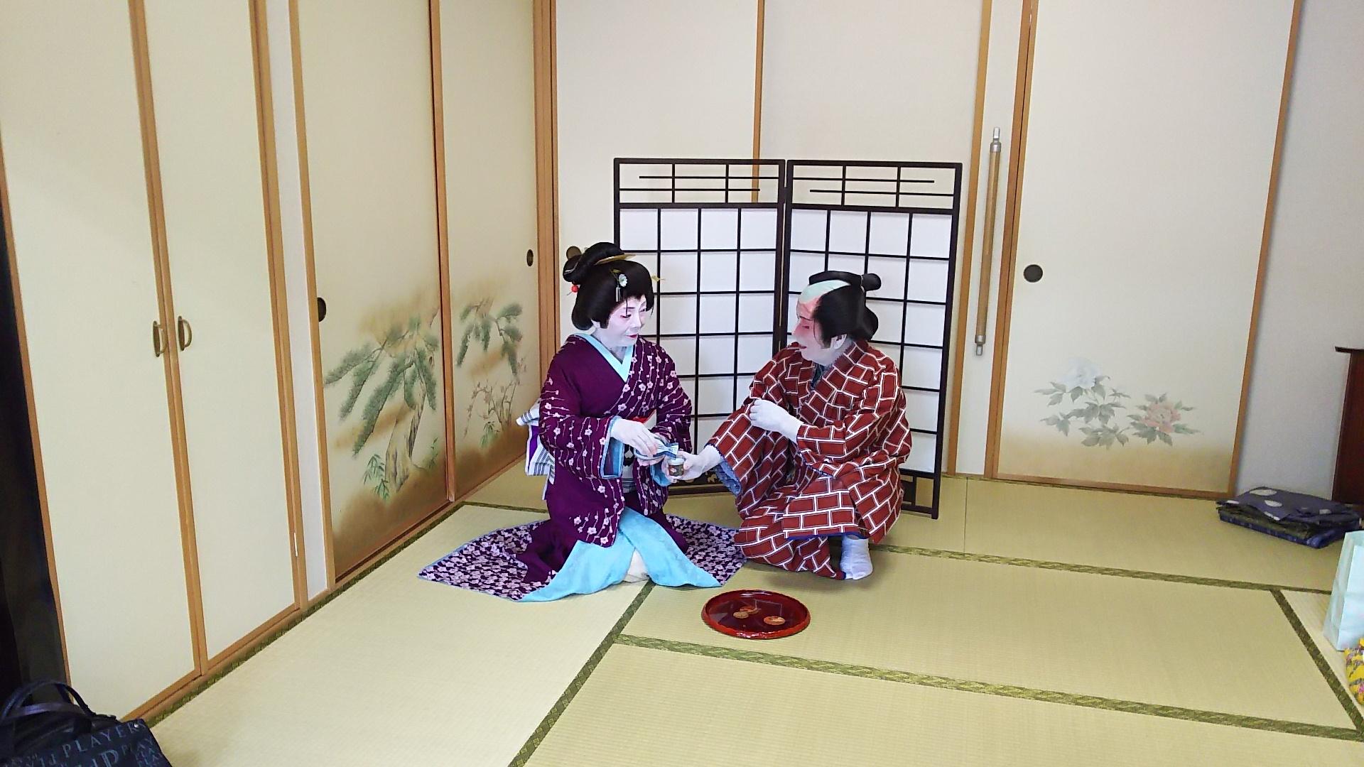 舞妓体験のお手伝い!名古屋で舞妓さんと芸者さんにに変身!