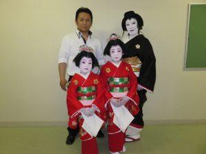 日本舞踊 家族写真