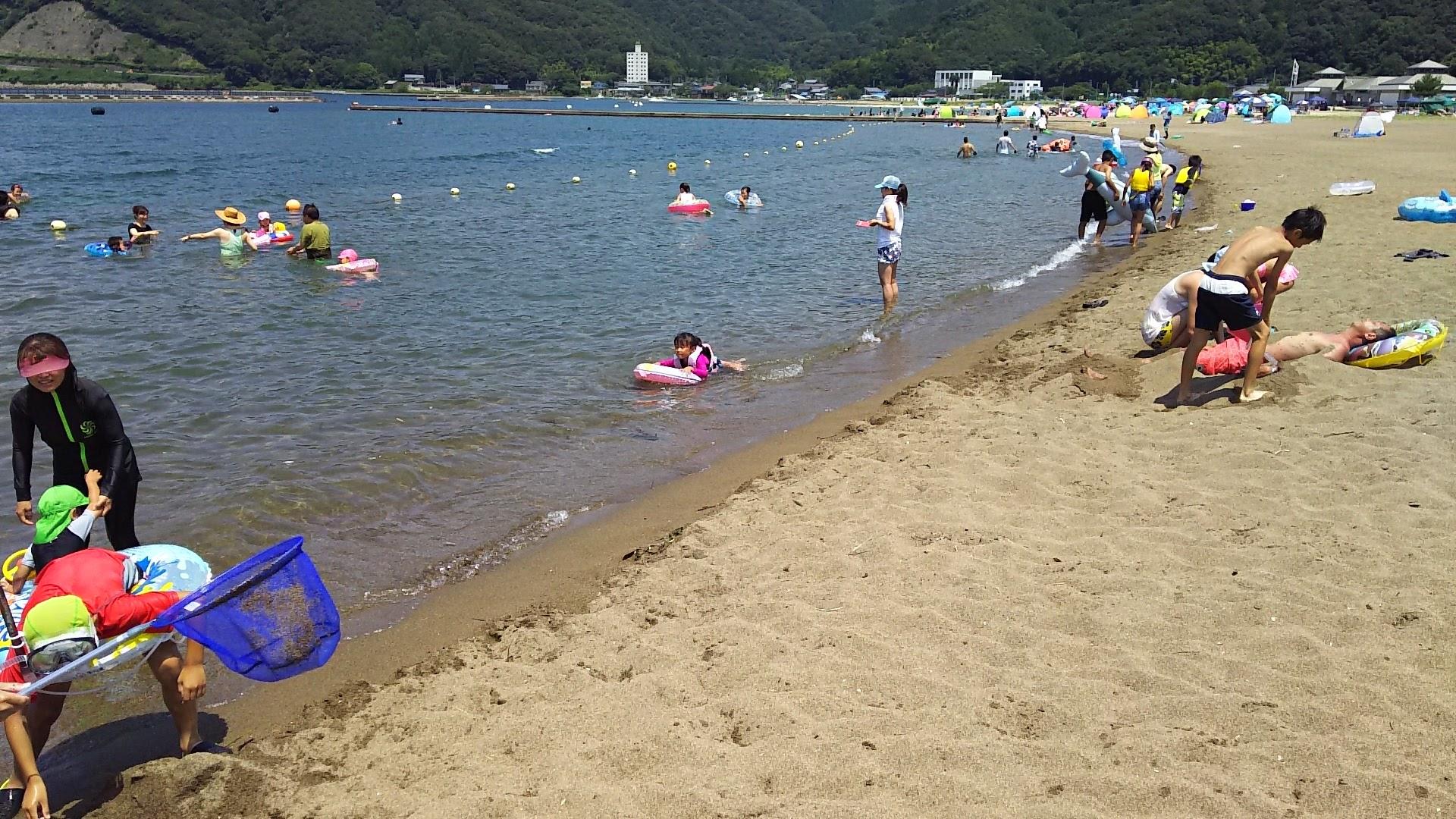 鞠山海水浴場